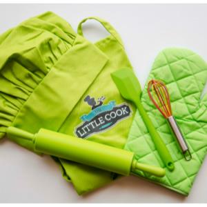 Kids Deluxe Baking Pack Green