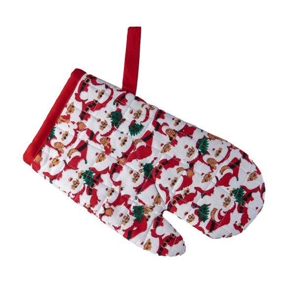 Kids Oven Mitt Santa