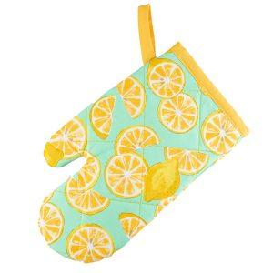 Kids Oven Mitt Lemon