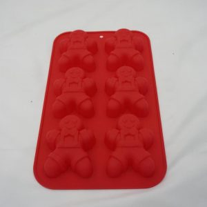 Silicone Gingerbread men cake mould
