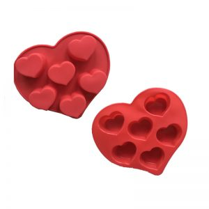 Heart muffin mould
