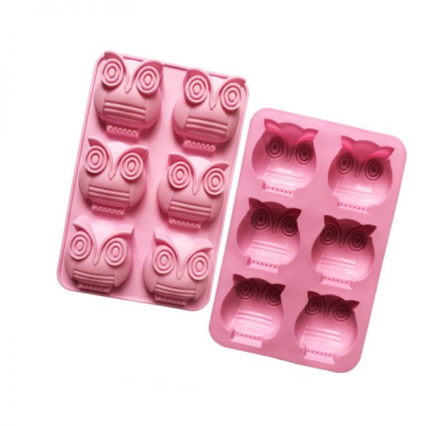 Owl cake mould