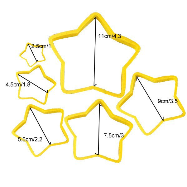 Christmas Star cutters