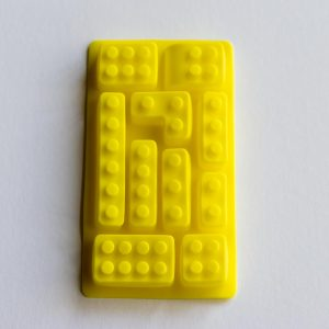 Lego assorted shapes yellow